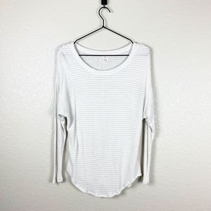 Silence + Noise ribbed top